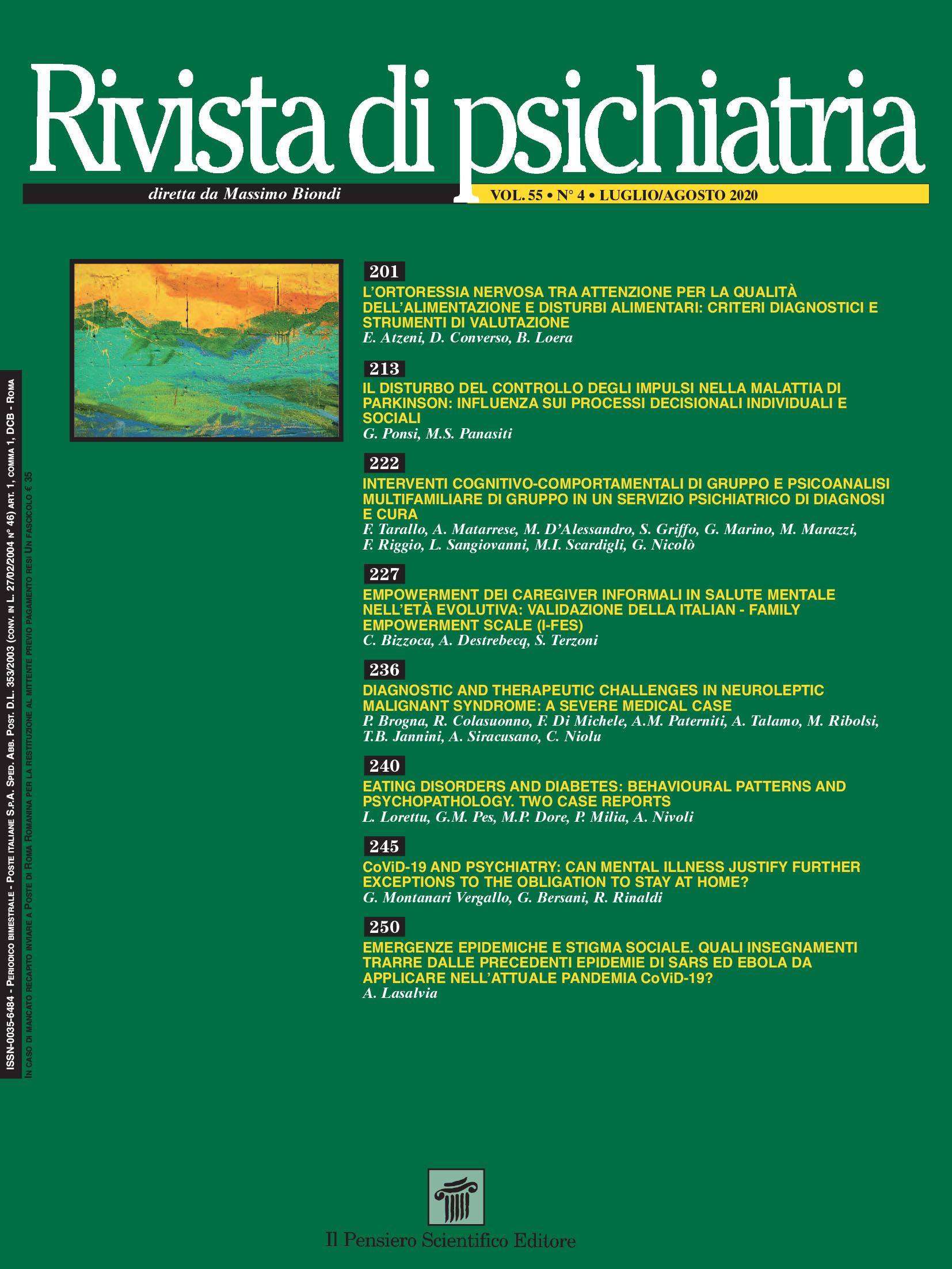 2020 Vol. 55 N. 4 July-August